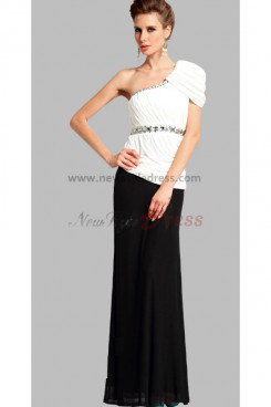 2014 New Style Oblique band Elegant Draped Mother Of the Dresses np-0287