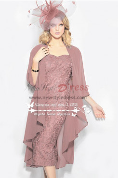 2019 Fashion Pearl Pink Elegant Women's Dress cms-069