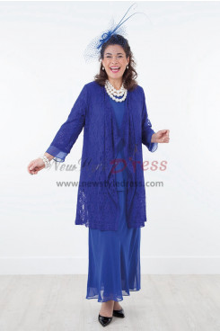 2019 New arrival Royal blue Mother of the bride dress Outfit nmo-388
