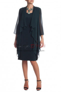 2019 New Style Dark green Loose Mother Of The Bride Dress nmo-352