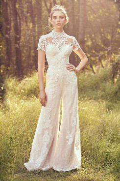 2021 Lace Bridal Dresses Hot Sale Bridal Jumpsuits wps-255
