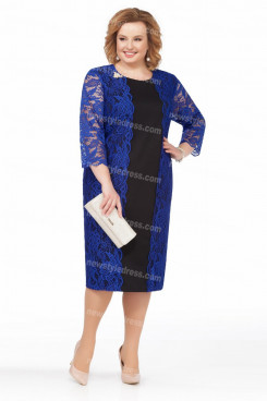 2021 Modern Women's Dresses,Royal Blue Mother of the bride Dresses nmo-727-3