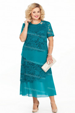 2021 Mother Of The Bride Dresses Green Comfortable Plus Size Women's Dresses nmo-729-2