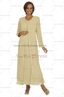 2019 Fashion Elastic pants Garments 2 sets Elegant Mother Of The Bride dress nmo-117