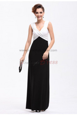 Tank Ankle-Length black Backless Mother Of the Dresses np-0198
