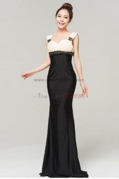 black Mermaid Sweetheart Chest With Draped Elegant evening dresses
