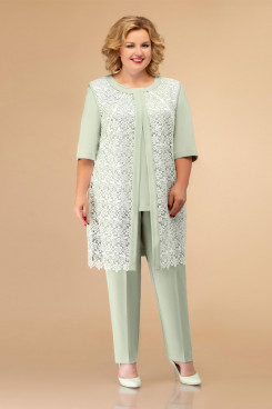 Elegant 3PC Mother of the bride pant suits With Jacket nmo-719