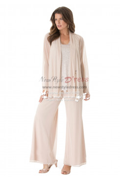 Fashion mother of the bride pant suits Plus size loose women's outfit for  for Special Occasion nmo-190