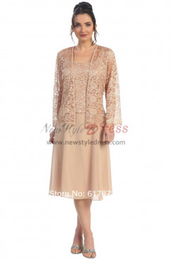 Formal Champagne Mother of the Bride Dresses nmo-330