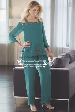 Glamorous Off the Shoulder mother of the Pants Suit