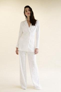Lace Bridal Pant suits 3-PC Wedding pants dresses wps-143
