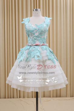 New arrival Homecoming dress Lovely short skirt with with belt