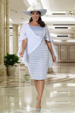 2020 Knee-Length Dress Hot Sale Mother of the bride Dresses NMO-644