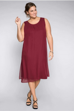 Plus Size Mid-Calf Mother fo the bride Dresse,Loose Women's Dresses nmo-700