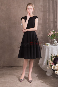 Women Knee-Length Black dresses Special occasion Wear NP-0424