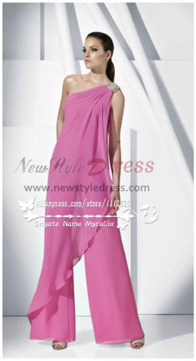2e13de476d78 chiffon Bridesmaids Jumpsuit Dresses lovely Mother of the bride pantsuit nmo -160