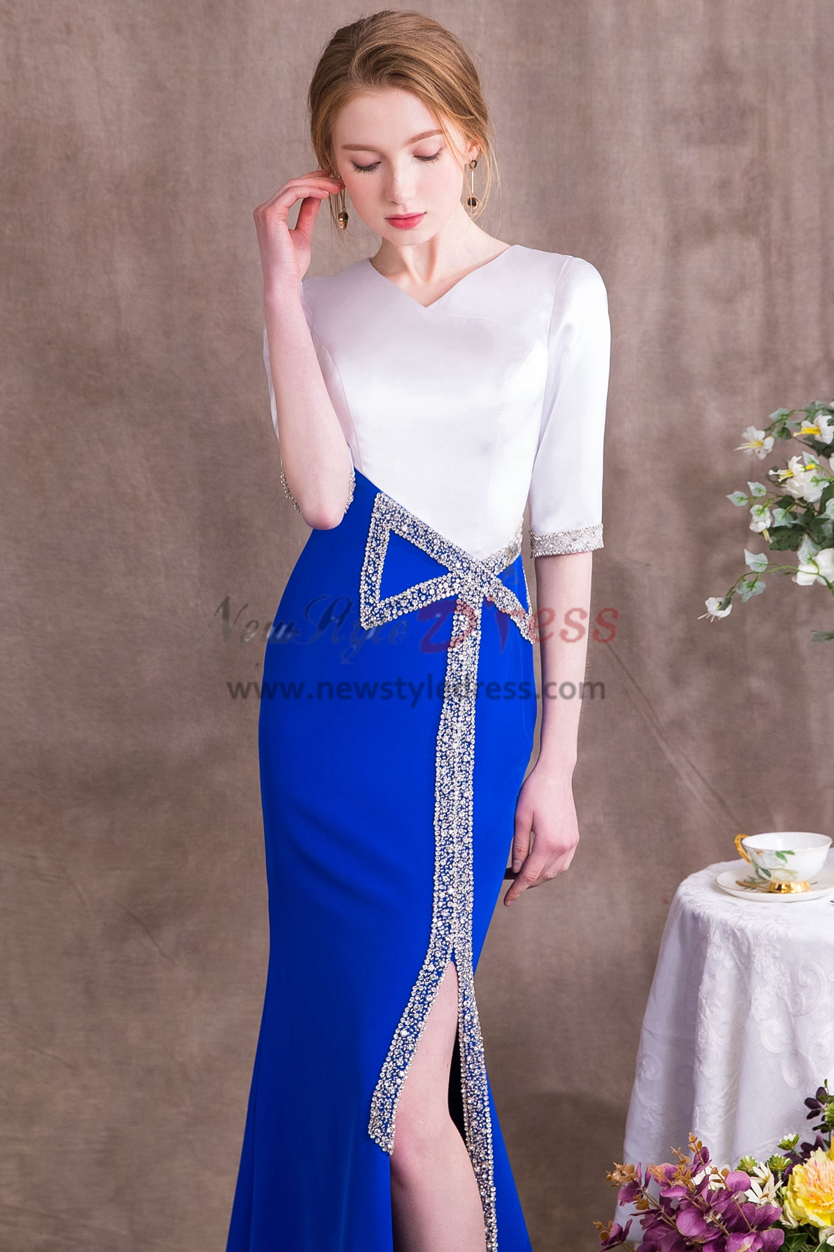 8486488041cb Blue Special Occasion Dresses and Formal Gowns - Promfy.com