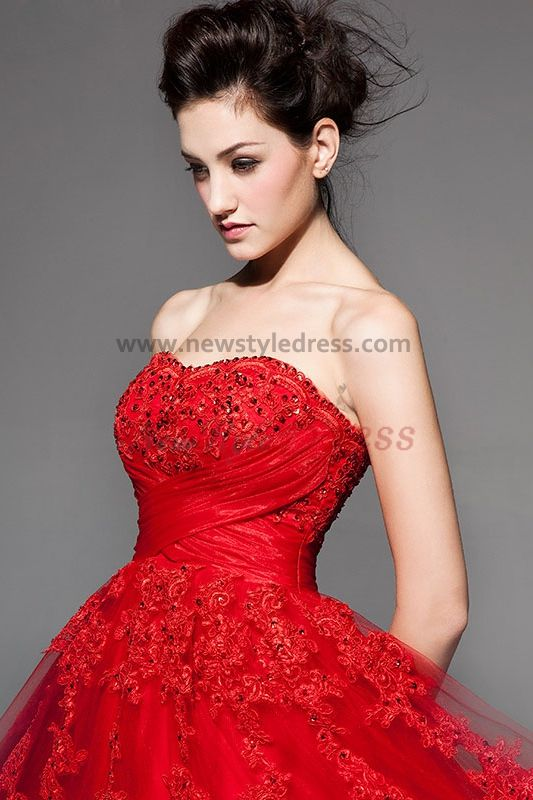 Lace Wedding Dress Red : Red lace wedding dress dresses