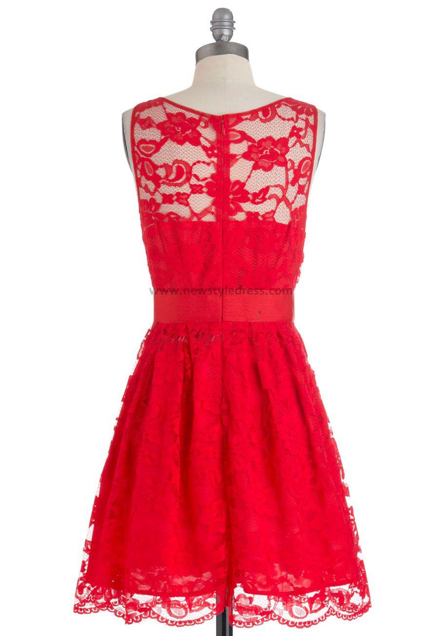 Plus Size Bridesmaid Dresses In Red 29
