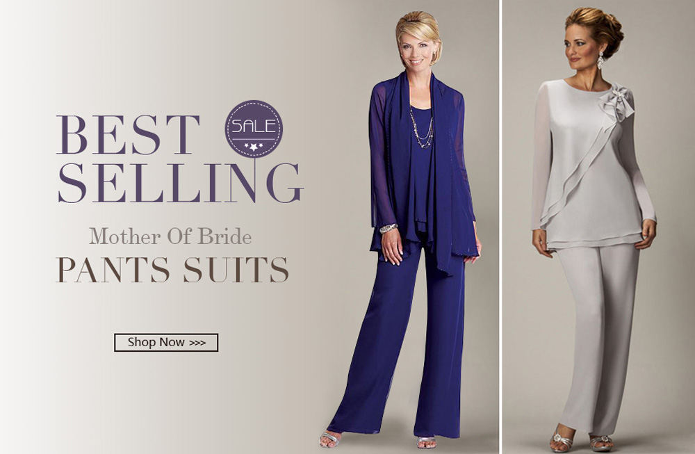 Best-selling Mother Of Bride Pants Suits